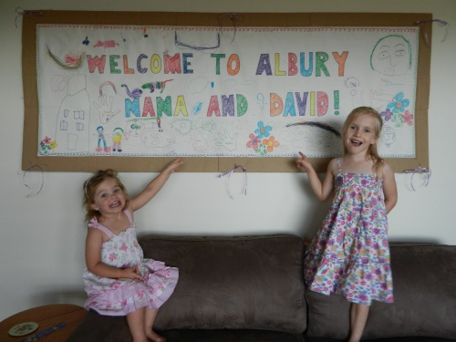 Welcome from my nieces!