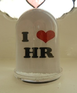 Snow Globe - I love HR