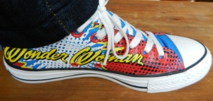 My Wonder Woman trainers